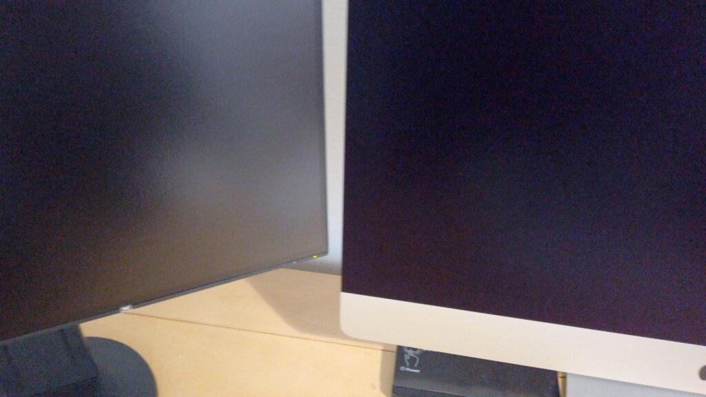 nano-textureと非光沢ディスプレイの比較
